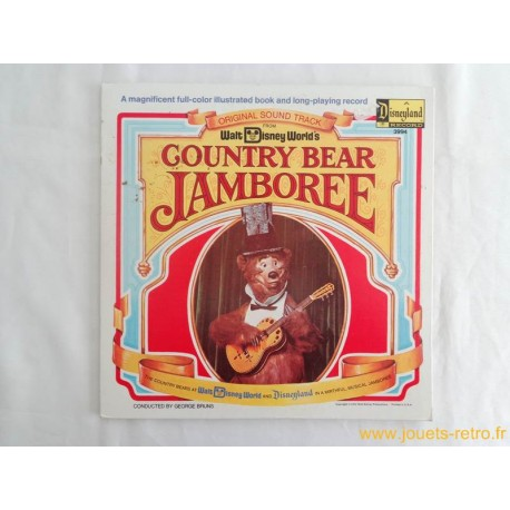 Country Bear Jamboree Livre disque 33 T