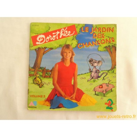 Dorothée Le jardin des chansons vol 2 - 45T Livre Disque vinyle
