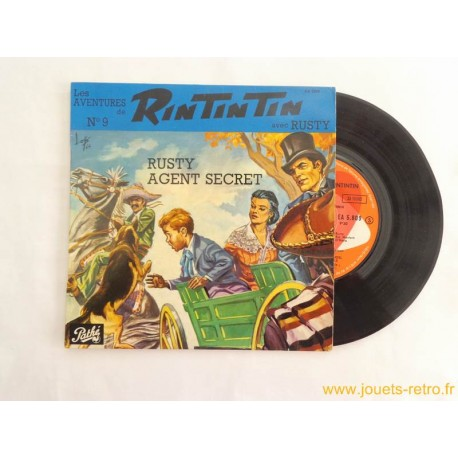 Les aventures de Rintintin n° 9 - 45T disque vinyle