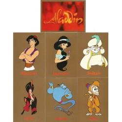 """""""Aladdin"""" Set Complet 90 cartes SkyBox"""