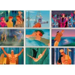 """""""Pocahontas"""" Set Complet 90 cartes SkyBox"""