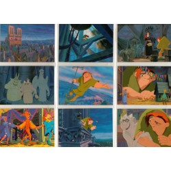 """Le Bossu de Notre Dame"" Set Complet 101 cartes SkyBox"