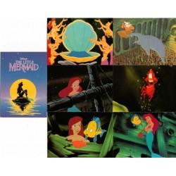 """""""La Petite Sirène"""" Set Complet 127 cartes + 6 éponges ProSet"""
