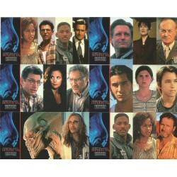 """""""Independence Day"""" Set Complet 72 cartes Topps"""