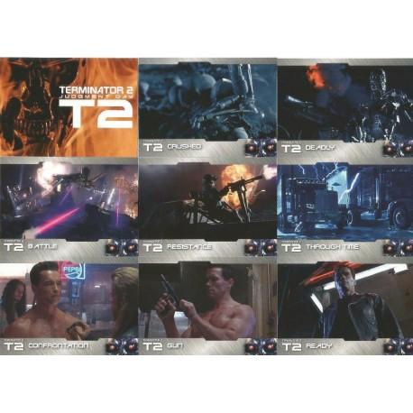 """""""Terminator 2"""" boite Set Complet 72 cartes + 9 spéciales"""