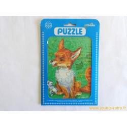 """""""Le renard et le lapin"""" puzzle Hemma"""