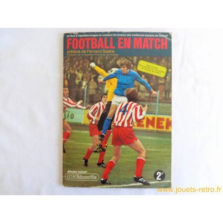 "Album vignettes ""Football en match"" 1972/73 Agéducadifs"