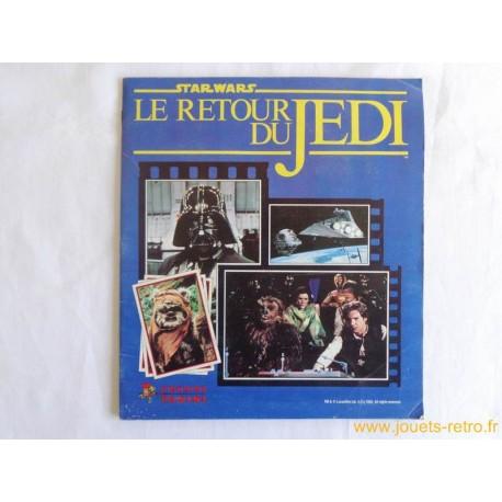 "Album Panini Star Wars ""Le retour du Jedi"" 1983"