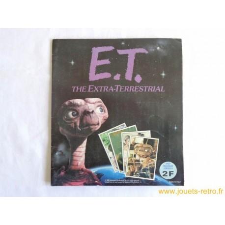 "Album Panini ""E.T l'Extra-Terrestre"" complet 1982"