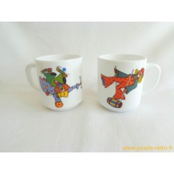 Lot de Mugs Arcopal Clowns