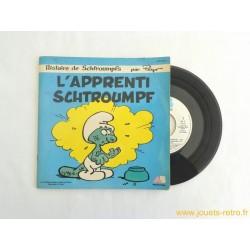 L' apprenti Schtroumpf - Livre disque 45T