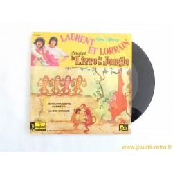 Laurent et Lorrain chantent le Livre de la Jungle - 45T disque vinyle