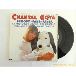 Chantal Goya Snoopy Pandi Panda disque 33T