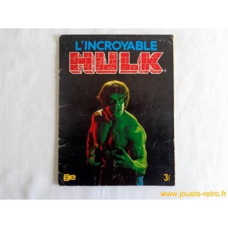 """Album vignettes """"l'incroyable Hulk"""" complet 1981"""