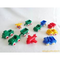 Lot 11 véhicules Viking Toys