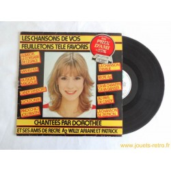 Les chansons de vos feuilletons favoris Dorothée - 33T Disque vinyle