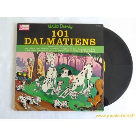 101 Dalmatiens Livre disque 33 T