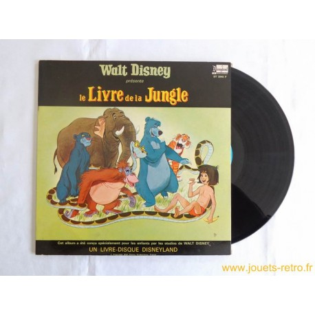 le Livre de la Jungle Livre disque 33 T