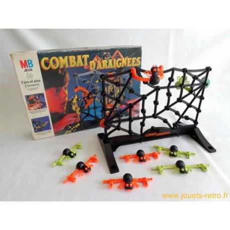 Combat d'araignées - jeu MB 1989
