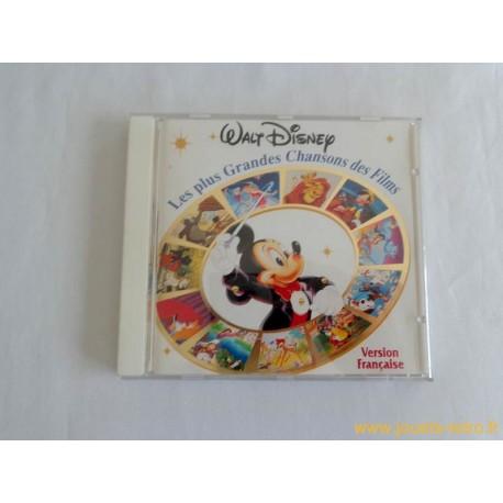 """cd """"Les plus Grandes Chansons des Films Walt Disney"""""""