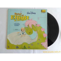 Peter et Elliott le Dragon Livre disque 33 T
