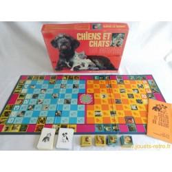 Chiens et chats du monde - jeu Nathan 1972