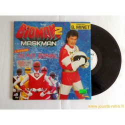 """Bioman 2 Maskman"" disque 33T"