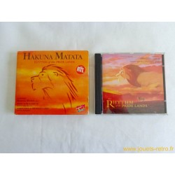 """Hakuna Matata... Rhythm of the pride lands"" cd BO Disney"