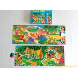 Puzzle-Frise Blanche-Neige Nathan 1976