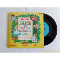 Alice au pays des merveilles - 45T Livre disque vinyle
