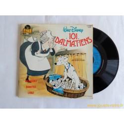 101 dalmatiens - 45T Livre disque vinyle