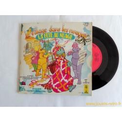 """Le village dans les nuages """"la fête au nuage"""" - 45T Livre disque vinyle"""
