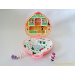Chalet alpin Polly Pocket 1989