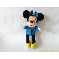 """Peluches """"Minnie Hôtesse de l'air"""" Plane Crazy Disney"""