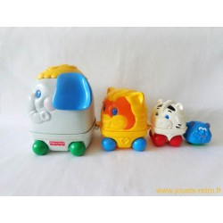 Train gigogne animaux Fisher Price 1995